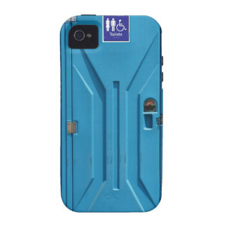 Funny Public Portable Toilet Vibe iPhone 4 Cover