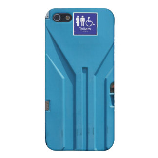 Funny Public Portable Toilet Cover For iPhone SE/5/5s