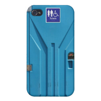 Funny Public Portable Toilet iPhone 4/4S Cases