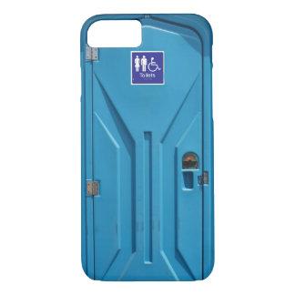 Funny Public Portable Toilet iPhone 7 Case