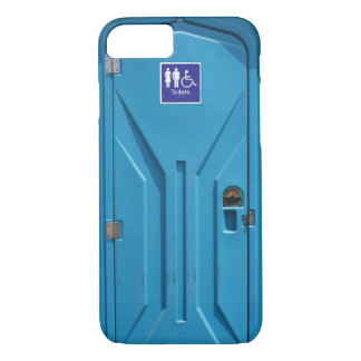 Funny Public Portable Toilet iPhone 8/7 Case