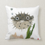 Funny Puffer Pillow
