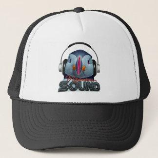 Funny puffin DJ Trucker Hat