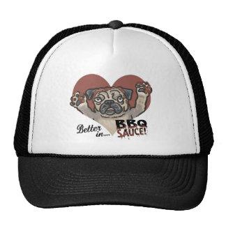 Funny Pug BBQ Hats