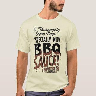 Funny Pug BBQ T-Shirt