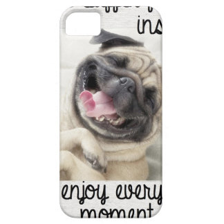 funny pug insanity iPhone SE/5/5s case