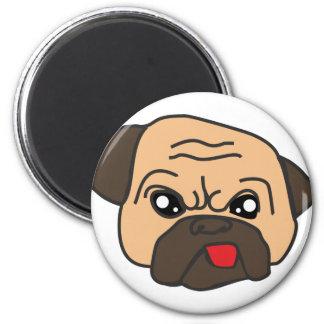 Funny Pug Magnet