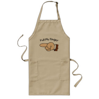 Funny Pull My Finger Apron