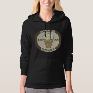 Funny Pullover Hoodie: Sprinkles are for Winners