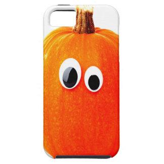 funny pumpkin face iPhone 5 case