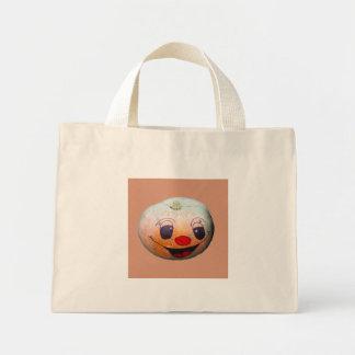 Funny Pumpkin Face Tote Bag