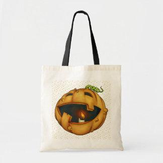 Funny Pumpkin Jackolantern - SRF Tote Bag