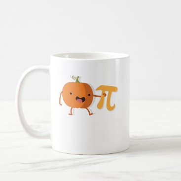 Halloween Themed Funny Pumpkin Pi Halloween Thanksgiving Gift Coffee Mug