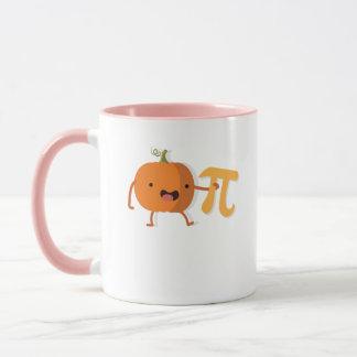 Funny Pumpkin Pi Halloween Thanksgiving Gift Mug