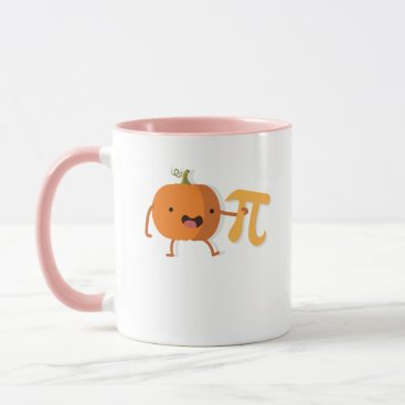Halloween Themed Funny Pumpkin Pi Halloween Thanksgiving Gift Mug