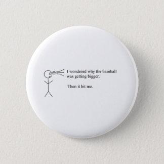 Funny Pun Pinback Button