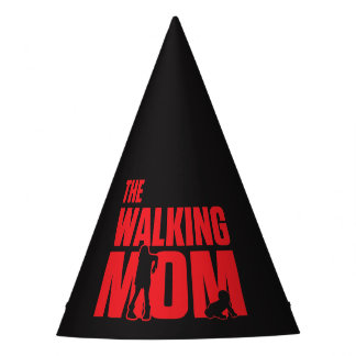 Funny pun the walking mom jokes for halloween party hat