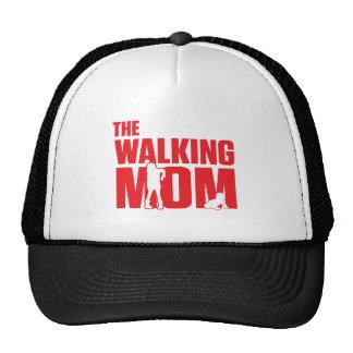 Funny pun the walking mom jokes for halloween trucker hat