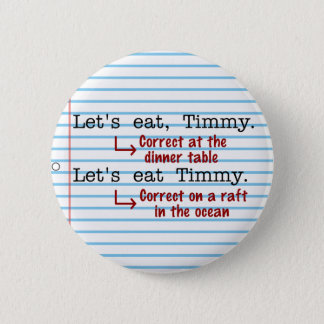 Funny Punctuation Grammar Button