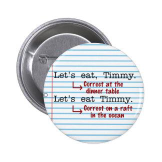 Funny Punctuation Grammar Pins