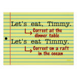 Funny Punctuation Grammar Posters