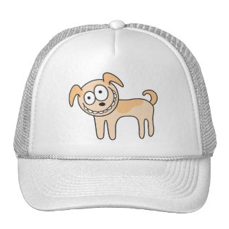 Funny puppy dog cute animal cartoon hat