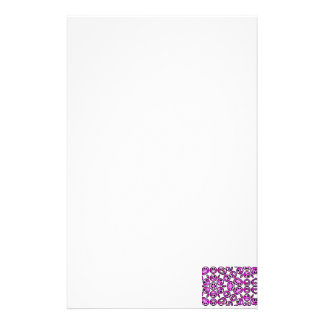 Funny Purple Pain Emoticons Stationery