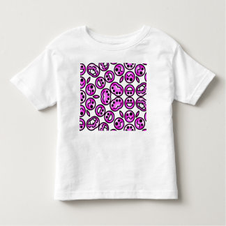 Funny Purple Pain Emoticons Toddler T-shirt