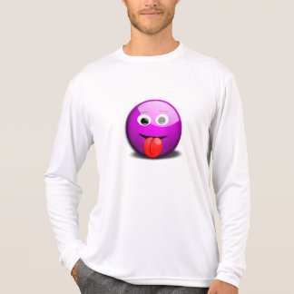 Funny Purple Smiley Face T-Shirt