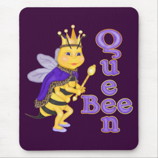 Funny Queen Bee Mouse Mat