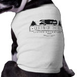 Funny Queen of RV Dog | Cute Camping RVer RVing T-Shirt<br><div class='desc'>Funny, cute camping dog shirt for RV owner dog owners- This cute camping pet shirt features a classic RV motorhome shadow with evergreen pine trees. Reads QUEEN OF THE RV in black, handwritten looking letters. Or add any custom text. Reads LIVING ADVENTURE SINCE with custom year. Everyone knows it&#39;s true....</div>