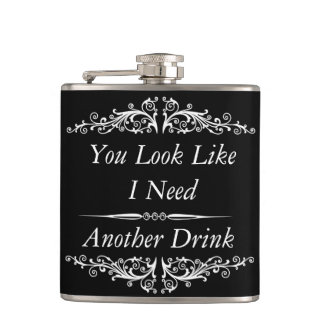 funny quotation,drinking quotes hip flasks