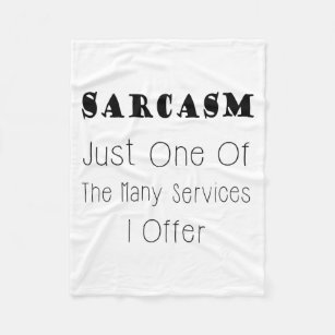 make your own sarcastic quotes blanket bundle up in yours today