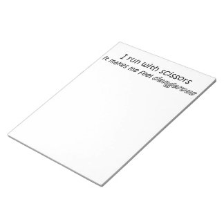 Funny quote gifts notepads unique office gift idea