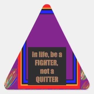 Funny Quote  I AM A SPOILED GIRL Enjoy Share JOY Triangle Sticker