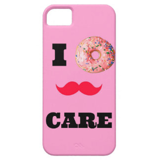 Funny quote I donnut(DONT) care Iphone case