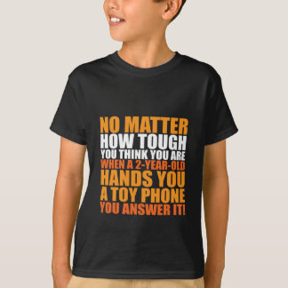 Funny Quote T-shirt For Kids