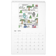 Funny Quotes Calendar 2016 at Zazzle