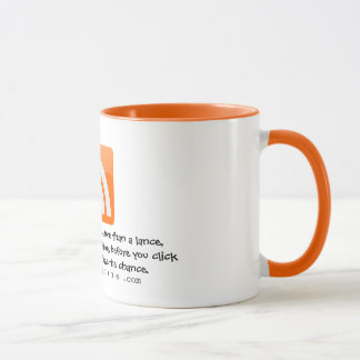 Funny Quotes for Bloggers Mug