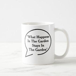 Funny Quotes Gardening Theme Mug
