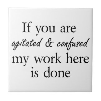 Funny quotes gifts unique gift ideas humor joke small square tile
