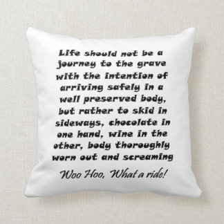 Funny quotes gifts unique humor joke throw pillows