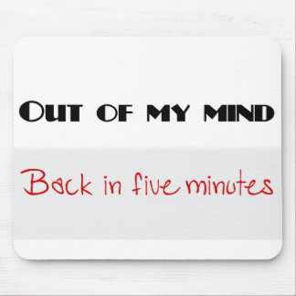 Funny quotes mouse pad