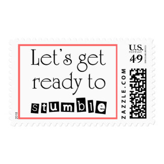 Funny quotes postage birthday bridal shower stamps