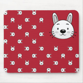 Funny Rabbit Gift Mouse Pad