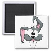 funny_rabbit magnet