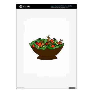 Funny Rabbits in a Salad Art iPad 3 Skin