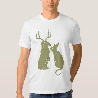Funny Rabbits Men's T-shirt