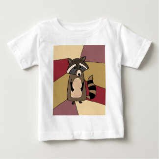 Funny Raccoon Original Art Design Baby T-Shirt