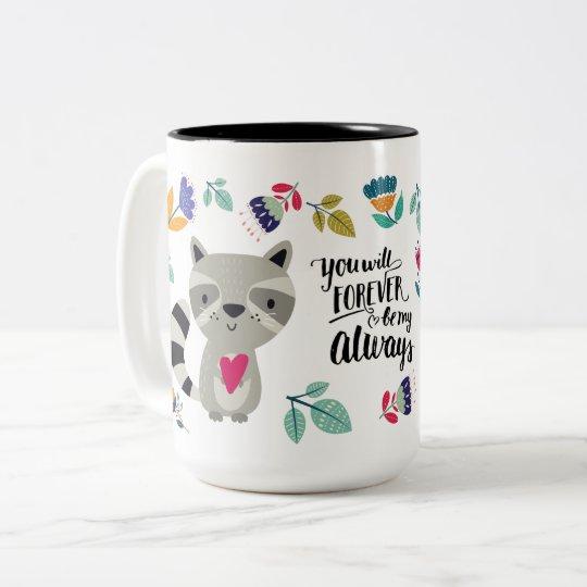 Funny Raccoon Valentine S Day Gift Mugs Zazzle Com